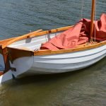 9ft Wooden Dinghy from Skur Boats