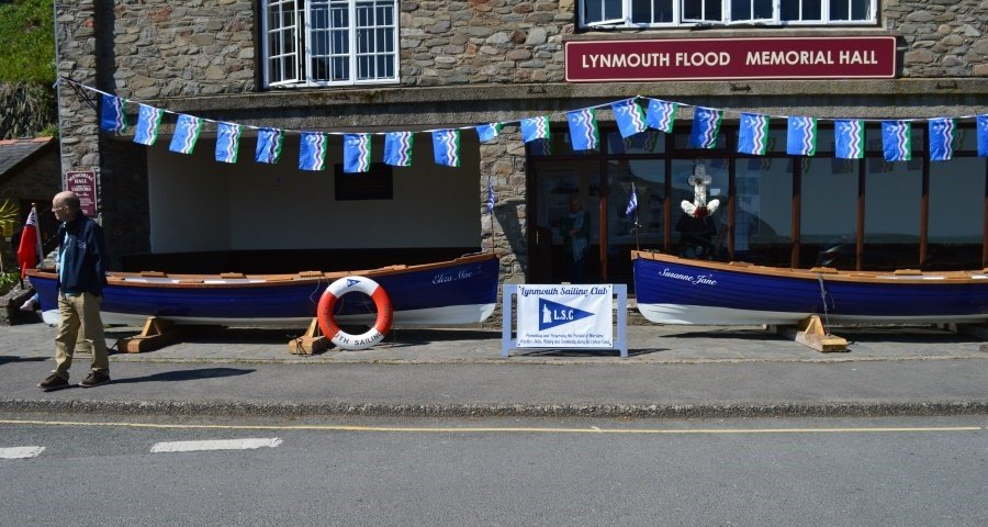 Lynmouth Sailing Club Naming Ceremony