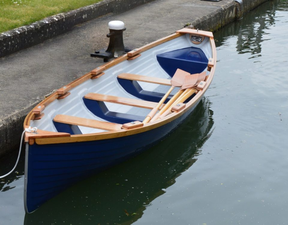 18ft Pioneer Rowing Boat from Skur Boats