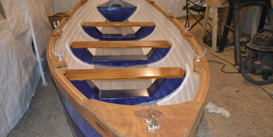 Skur Boats completed rowing boat